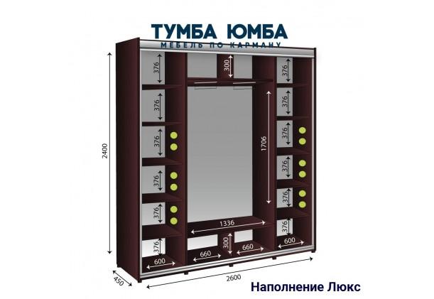Шкаф-Купе 2600/450/2400