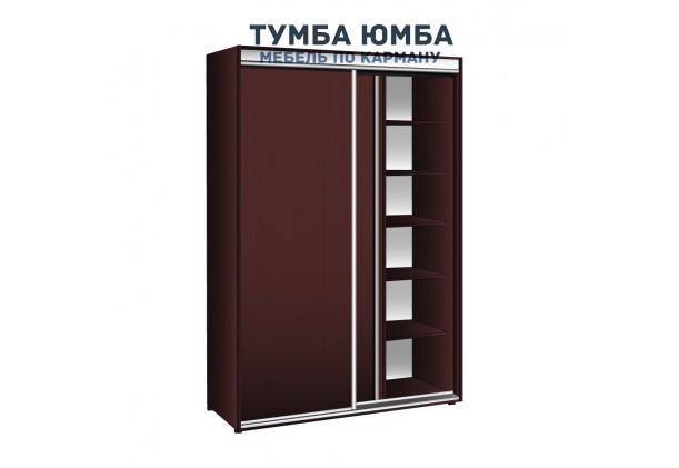 фото недорогой красивый и современный шкаф-купе 1700/450/2400 с раздвижными глухими дверьми из ДСП от производителя в интернет-магазине TUMBA-UMBA™ Украина