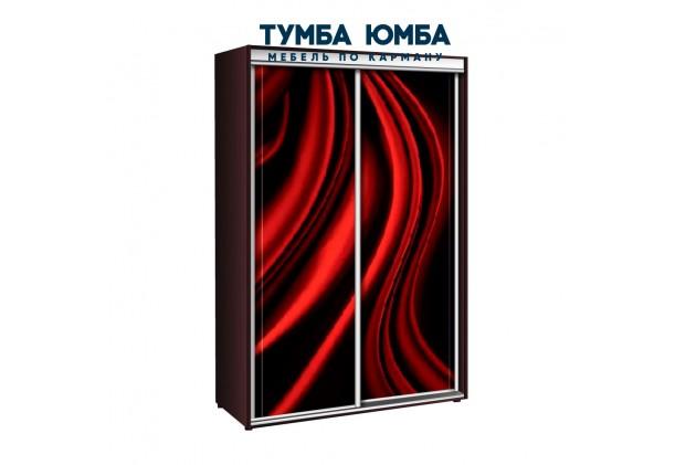 фото недорогой красивый и современный шкаф-купе 1100/600/2400 с раздвижными дверьми фотопечатью из ЛДСП от производителя в интернет-магазине TUMBA-UMBA™ Украина