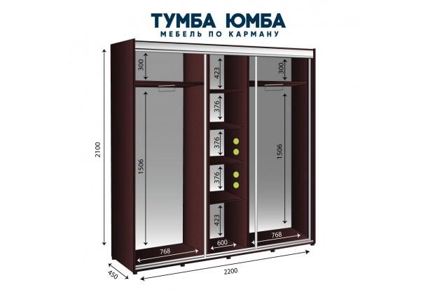Шкаф-Купе 2200/450/2100