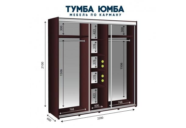 Шкаф-Купе 2200/600/2100
