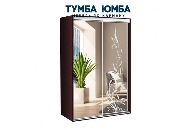 фото недорогой красивый и современный шкаф-купе 1000/450/2200 с раздвижными дверьми с фотопечатью из ЛДСП от производителя в интернет-магазине TUMBA-UMBA™ Украина