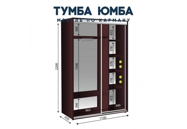 Шкаф-Купе 1100/450/2200