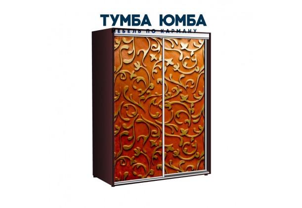 фото недорогой красивый и современный шкаф-купе 1700/600/2200 с раздвижными дверьми с фотопечатью из ЛДСП от производителя в интернет-магазине TUMBA-UMBA™ Украина