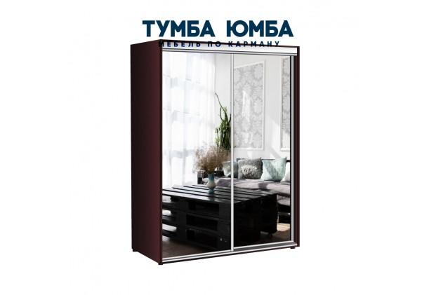 фото недорогой красивый и современный шкаф-купе 1000/600/2200 с раздвижными дверьми с фотопечатью и пескоструйным рисунком из ЛДСП от производителя в интернет-магазине TUMBA-UMBA™ Украина