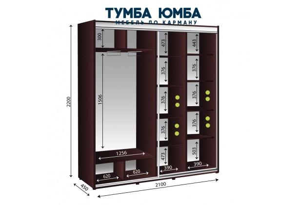 Шкаф-Купе 2100/450/2200