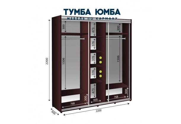 Шкаф-Купе 2200/600/2200