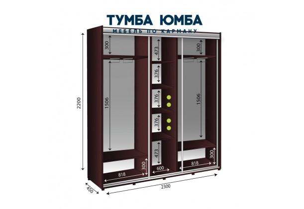 Шкаф-Купе 2300/450/2200