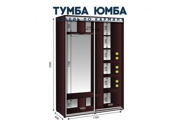 Шкаф-Купе 1700/450/2400