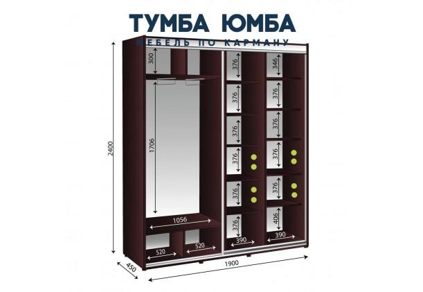 Шкаф-Купе 1900/450/2400