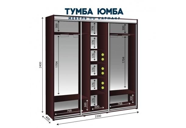 Шкаф-Купе 2200/450/2400