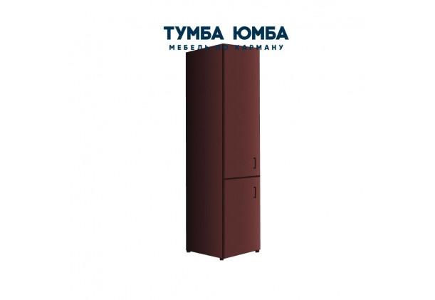 Фото недорогой стандартный мебельный распашной Пенал-1 300х450х2100 ДСП с полками для дома и офиса  У дешево от производителя с доставкой по всей Украине