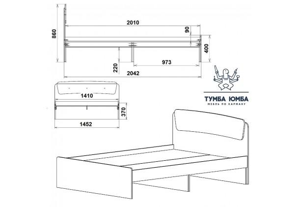 Кровать Классика-140