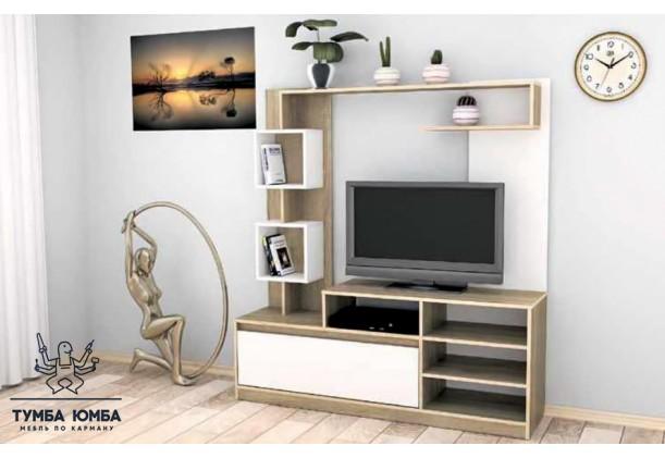 фото недорогая стенка в гостиную Милана ДСП Компанит в интернет-магазине мебели эконом-класса TUMBA-UMBA™