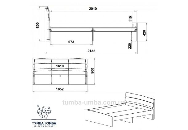 Кровать Модерн-160