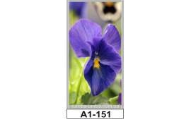 Фотопечать А1-151 для шкафа-купе на одну дверь. Цветы