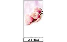 Фотопечать А1-154 для шкафа-купе на одну дверь. Цветы