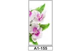 Фотопечать А1-155 для шкафа-купе на одну дверь. Цветы
