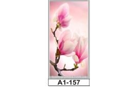 Фотопечать А1-157 для шкафа-купе на одну дверь. Цветы