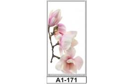 Фотопечать А1-171 для шкафа-купе на одну дверь. Цветы