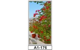 Фотопечать А1-176 для шкафа-купе на одну дверь. Цветы