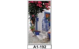Фотопечать А1-192 для шкафа-купе на одну дверь. Старинная улочка