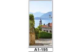 Фотопечать А1-195 для шкафа-купе на одну дверь. Старинная улочка