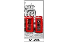 Фотопечать А1-204 для шкафа-купе на одну дверь. Лондон