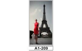 Фотопечать А1-209 для шкафа-купе на одну дверь. Париж