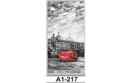 Фотопечать А1-217 для шкафа-купе на одну дверь. Лондон