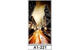 Фотопечать А1-221 для шкафа-купе на одну дверь. Ночной город
