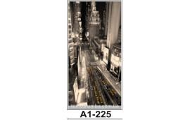 Фотопечать А1-225 для шкафа-купе на одну дверь. Ночной город