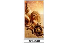 Фотопечать А1-230 для шкафа-купе на одну дверь. Компас