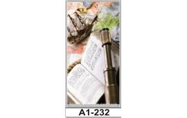 Фотопечать А1-227 для шкафа-купе на одну дверь. Путешествия