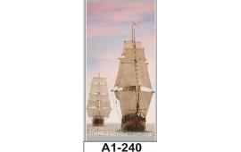 Фотопечать А1-240 для шкафа-купе на одну дверь. Корабль