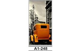 Фотопечать А1-248 для шкафа-купе на одну дверь. Автомобиль