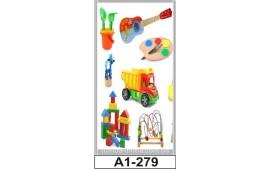 Фотопечать А1-279 для шкафа-купе на одну дверь. Детское