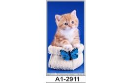 Фотопечать А1-2911 для шкафа-купе на одну дверь. Котёнок