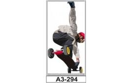 Фотопечать А1-294 для шкафа-купе на одну дверь. Щенок