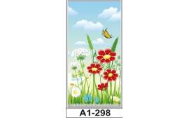 Фотопечать А1-298 для шкафа-купе на одну дверь. Цветы