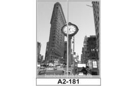Фотопечать А2-181 для шкафа-купе на две двери. Большой город