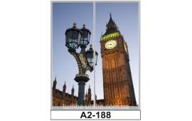 Фотопечать А2-188 для шкафа-купе на две двери. Лондон
