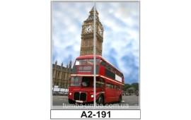 Фотопечать А2-191 для шкафа-купе на две двери. Лондон