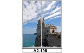 Фотопечать А2-198 для шкафа-купе на две двери. Ласточкино гнездо