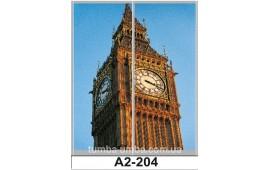 Фотопечать А2-204 для шкафа-купе на две двери. Лондон
