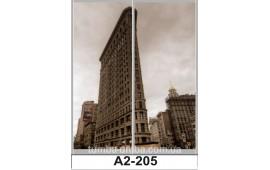 Фотопечать А2-205 для шкафа-купе на две двери. Большой город