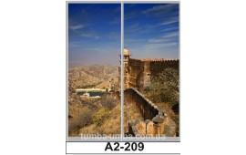 Фотопечать А2-209 для шкафа-купе на две двери. Великая китайская стена