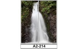 Фотопечать А2-214 для шкафа-купе на две двери. Водопад