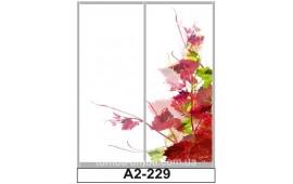 Фотопечать А2-229 для шкафа-купе на две двери. Цветы