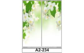 Фотопечать А2-234 для шкафа-купе на две двери. Природа